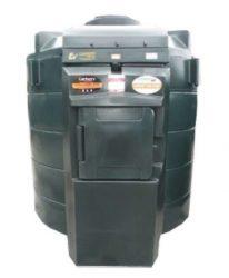 6000 literes üzemanyagtartály szintjelzővel, töltőpisztollyal, mérőórával